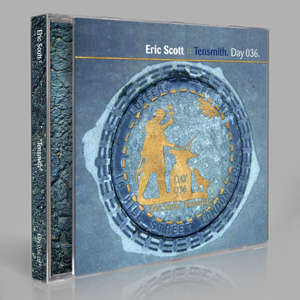 "Eric Scott (Day For Night). ""Tensmith"" Day 036.cdr / download"