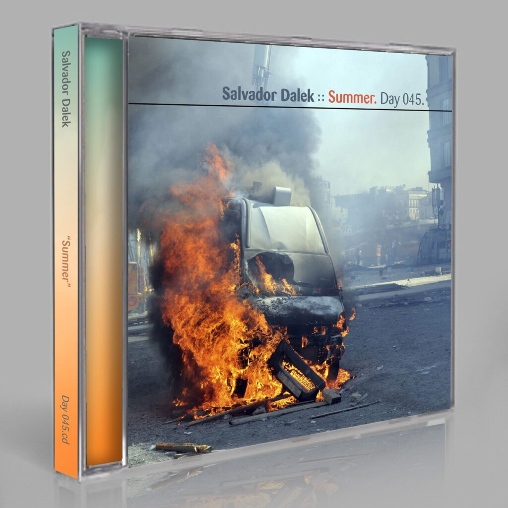 "Salvador Dalek (Eric Scott/Day For Night, and Peter Moraites) ""Summer"" Day 045.cd / download"