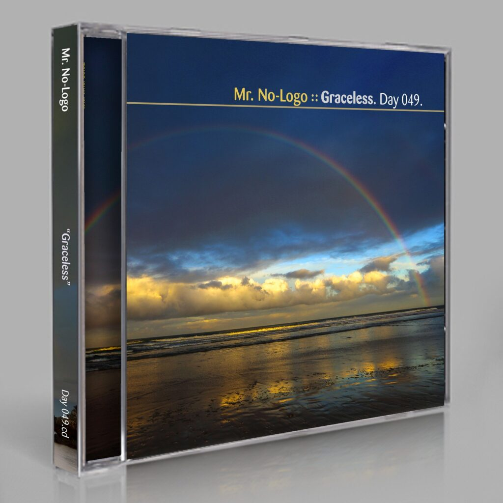 "Mr. No-Logo (Eric Scott / Day For Night). ""Graceless."" Day 049.cd / download"