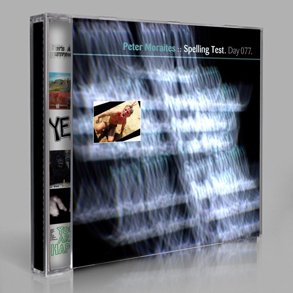 "Peter Moraites ""Spelling Test"" Day 077.dvd / cd / download"