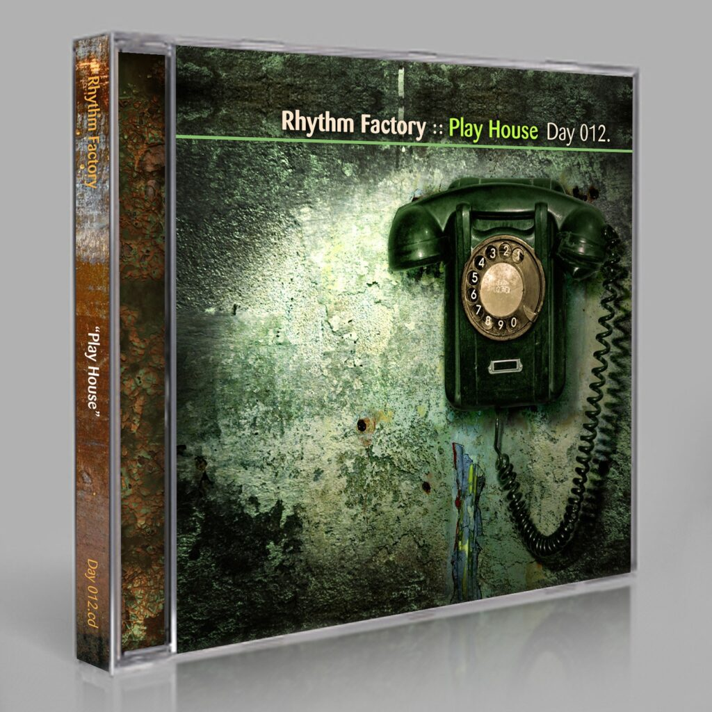 "Rhythm Factory (Eric Scott) ""Play Pop!"" Day 012.cd / download"