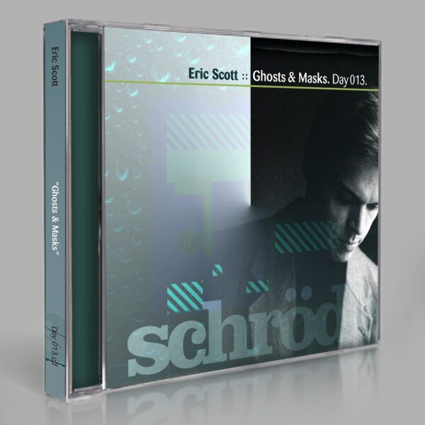 """Eric Scott (Day For Night) """"Ghosts & Masks"""" Day 013.cd / download"""