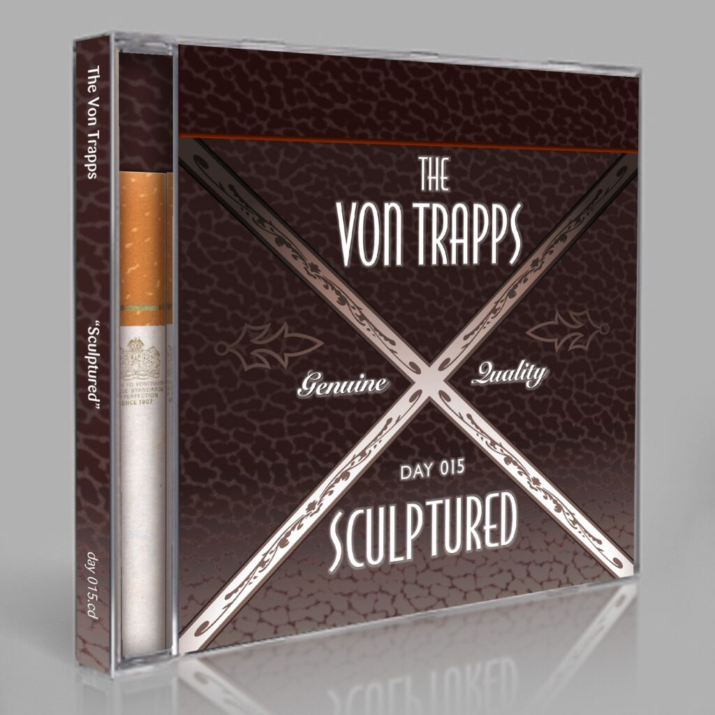"Von Trapps (Eric Scott/Day For Night, Doug Green) ""Sculptured"" Day 015.cd / download"