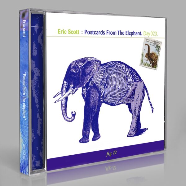 """Eric Scott (Day For Night) """"Postcards From The Elephant"""" Day 023.cd / download"""