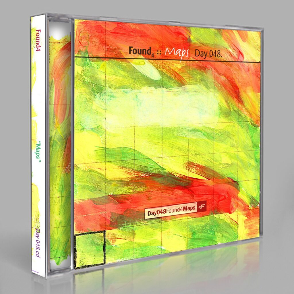 """Found (Eric Scott/Day For Night) """"Found4: Maps"""" Day 048.cd / download"""