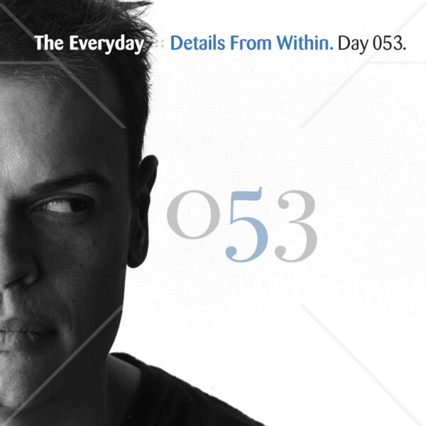 """Eric Scott (Day For Night) & The Everyday """"Details From Within"""" Day 053.cd / download"""