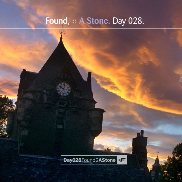 """Found (Eric Scott/Day For Night) """"Found1: A Stone"""" Day 028.cd / download"""